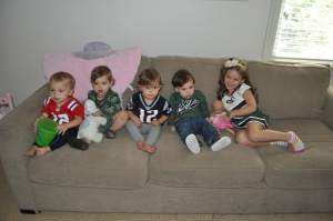 cuties ready for football!