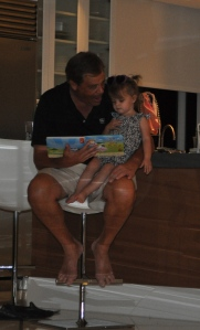 reading time with papa rick